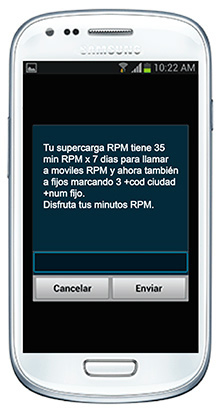 Servicios Movistar - Menu Interactivo